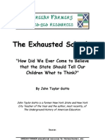 John Taylor Gatto - The Exhausted School