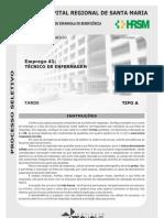 T+ëCNICO DE ENFERMAGEM TIPO A