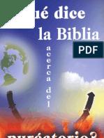 Que Dice La Biblia Acerca Del Purgatorio