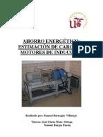 Ahorro energético estimación de carga en motores de inducción