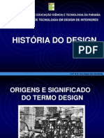 Aula 1 - Origens e Significado Do Termo Design