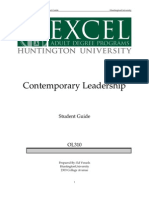 OL310 Contemporary Leadership SG 7-08 Updated