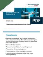 Advanced DMVPN Deployments