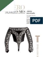 revista museo del traje jubón