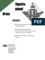 Business Etiquette 0708