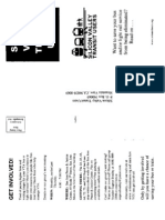 Group Promotional Flyer