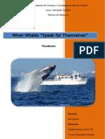Trabalho Baleias PDF