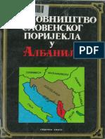 Aleksandar Loma - Sloveni i Albanci do XII veka u svetlu toponomastike