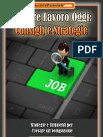 Trovare Lavoro Oggi, Consigli e Strategie_anteprima