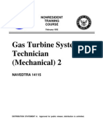 US Navy Course NAVEDTRA 14115 - Gas Turbine Systems Technician Mechanical) 2