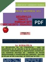Conocimiento Pegagogicoeducacion Inclusiva Ciap 2011