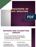 Group Behavior - Final Ppt