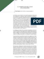 Gómez, T. La conservación del color. 2009