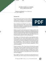 Ruiz, E. Aportaciones Teoria Rest. 2009