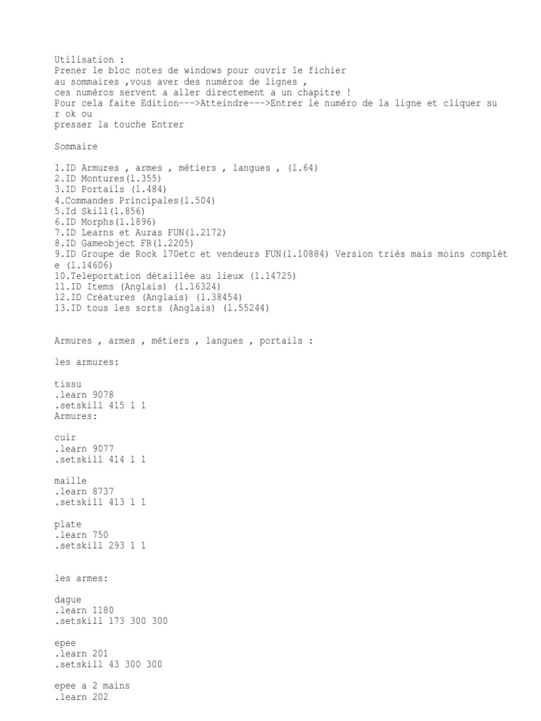 Commandes Mangos Races And Factions Of Warcraft Tas Ransel Subway 21177