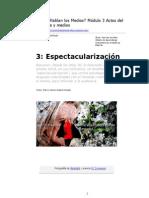 4. Espectacularización