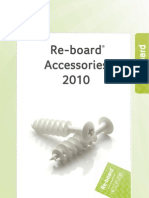 Re-Board Accessories Catalogue 2010