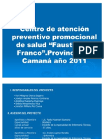 Centro de atención preventivo promocional de salud