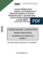 nombramiento 2011