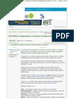 Android e SQLite, Marlus Dias Silva