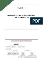 Tema 11 Memorias