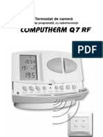 Manual Termostat Computherm Q7RF