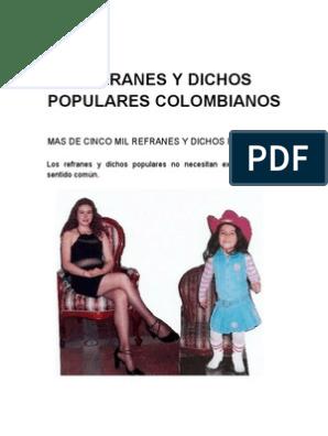 Refranes Y Dichos Colombia Diablo