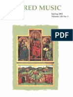 Sacred Music, 128.1, Spring 2001; The Journal of the Church Music Association of America