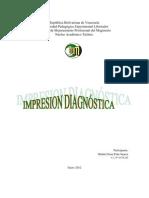 Impresion diagnostica