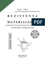 Rezistenta Materialelor - Solicitari Simple Si Teoria Elasticitatii - Pavel Tripa
