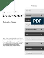 Onkyo HTX-22HDX