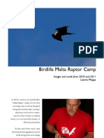 Refelctions on Raptor camps 2010 and 2011