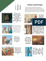 Book of Mormon Scripture Journal Prompts