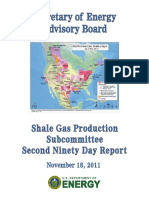 Secretary of Energy Advisory Board Shale Gas Production Subcommittee Final Report, November 2011
