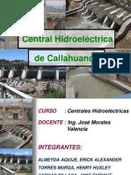 Trabajo Original - Central de Callahuanca (Ppt)
