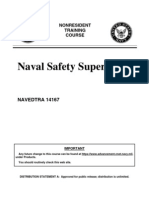 US Navy Course NAVEDTRA 14167 - Naval Safety Supervisor