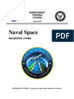 US Navy Course NAVEDTRA 14168A - Naval Space