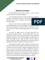 Relatório de Estágio.