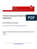 Professor Sharp and the Albert Einstein Organization