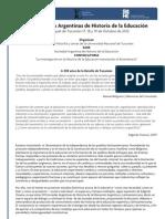 XVII Jornadas Argentinas de Historia de la Educación