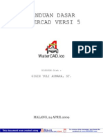 Manual Watercad v 5