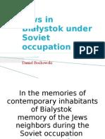 Jews in Białystok under Soviet occupation
