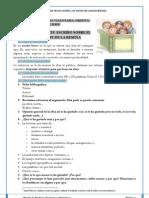 Ficha de lectura para reseña