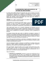 Guia Para La Definicion e Implantacion de Un Sistema de Indicadores