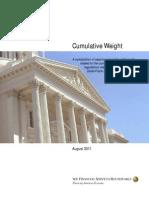 Cumulative Weight