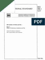 ISO Tolerance Part 1