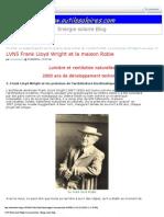 Frank Lloyd Wright Et La Maison Robie PDF