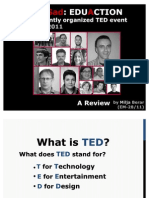 TEDxNovi Sad - A Review