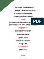 Universidad de Guayaquil Trabajo Final de Inv. en Salud