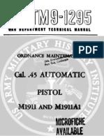 United States Army Tm 9-1295 - 8 September 1947